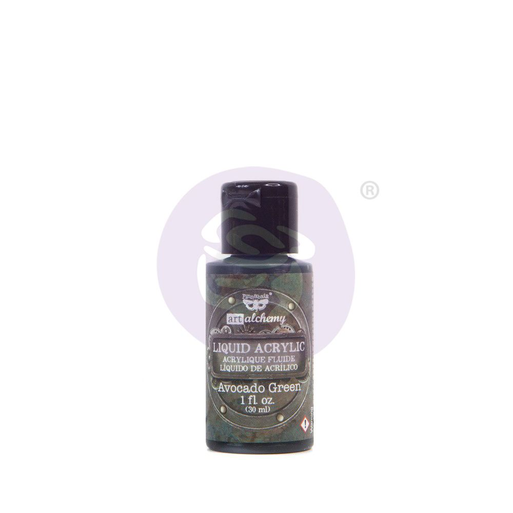 Prima Marketing Art Alchemy Liquid Acrylic Paint - Avocado Green