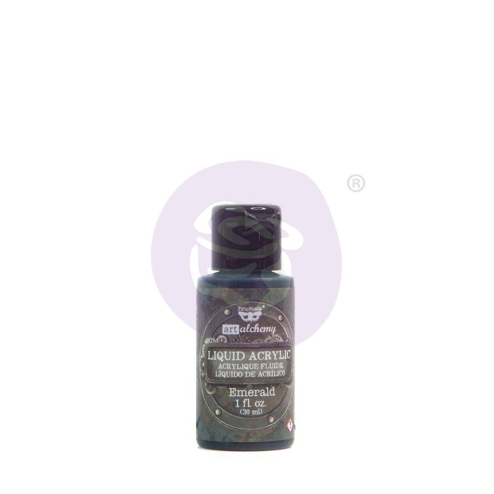Prima Marketing Art Alchemy Liquid Acrylic Paint - Emerald