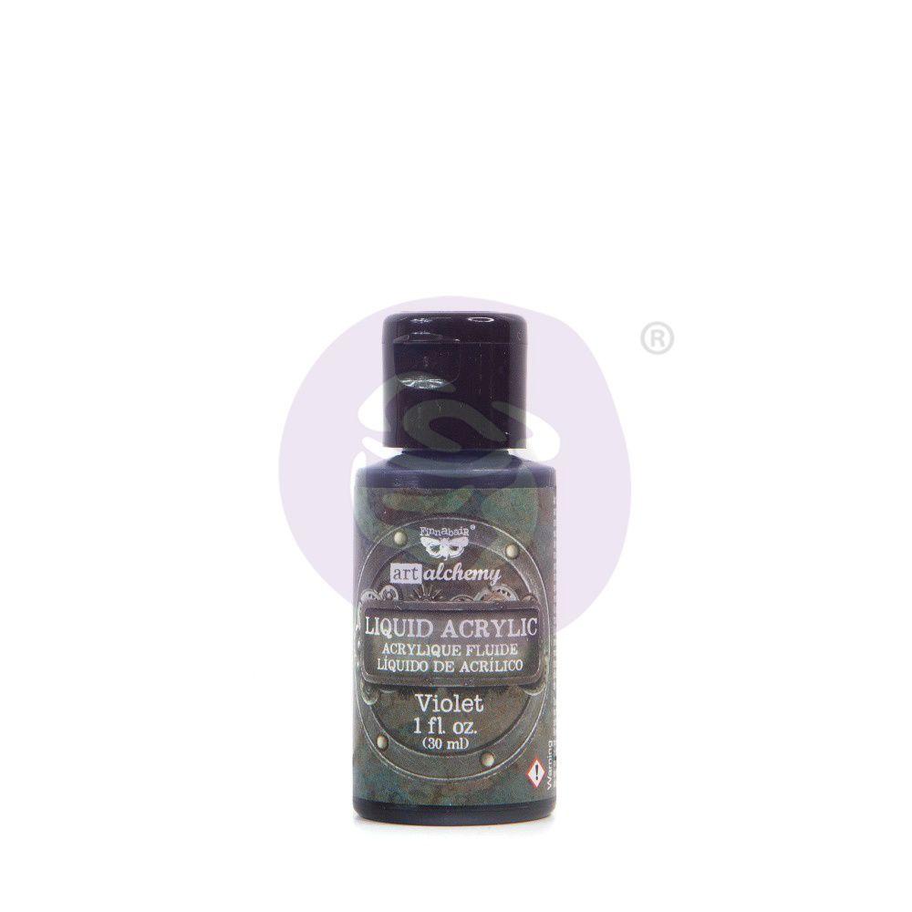 Prima Marketing Art Alchemy Liquid Acrylic - Paint Violet
