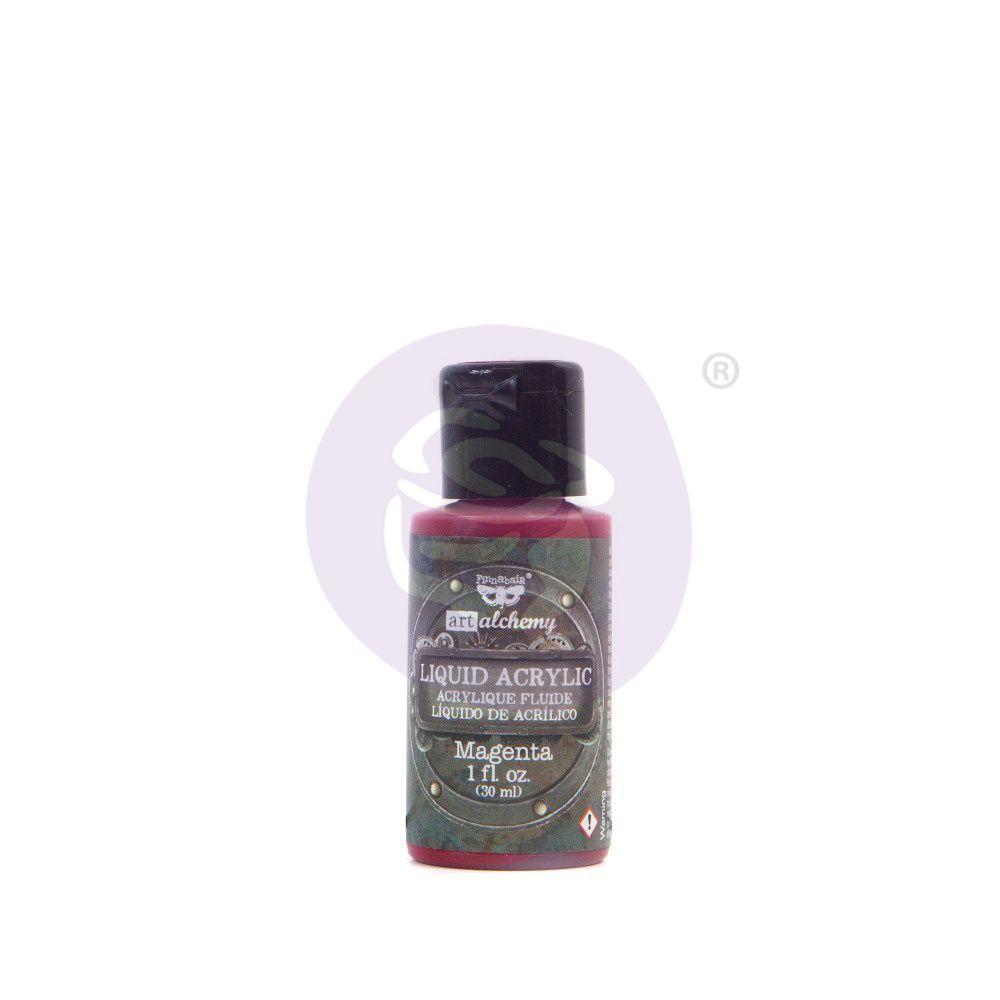Prima Marketing Art Alchemy Liquid Acrylic Paint - Magenta