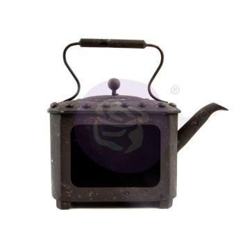 Prima Marketing Metal Frame - Rusty Teapot
