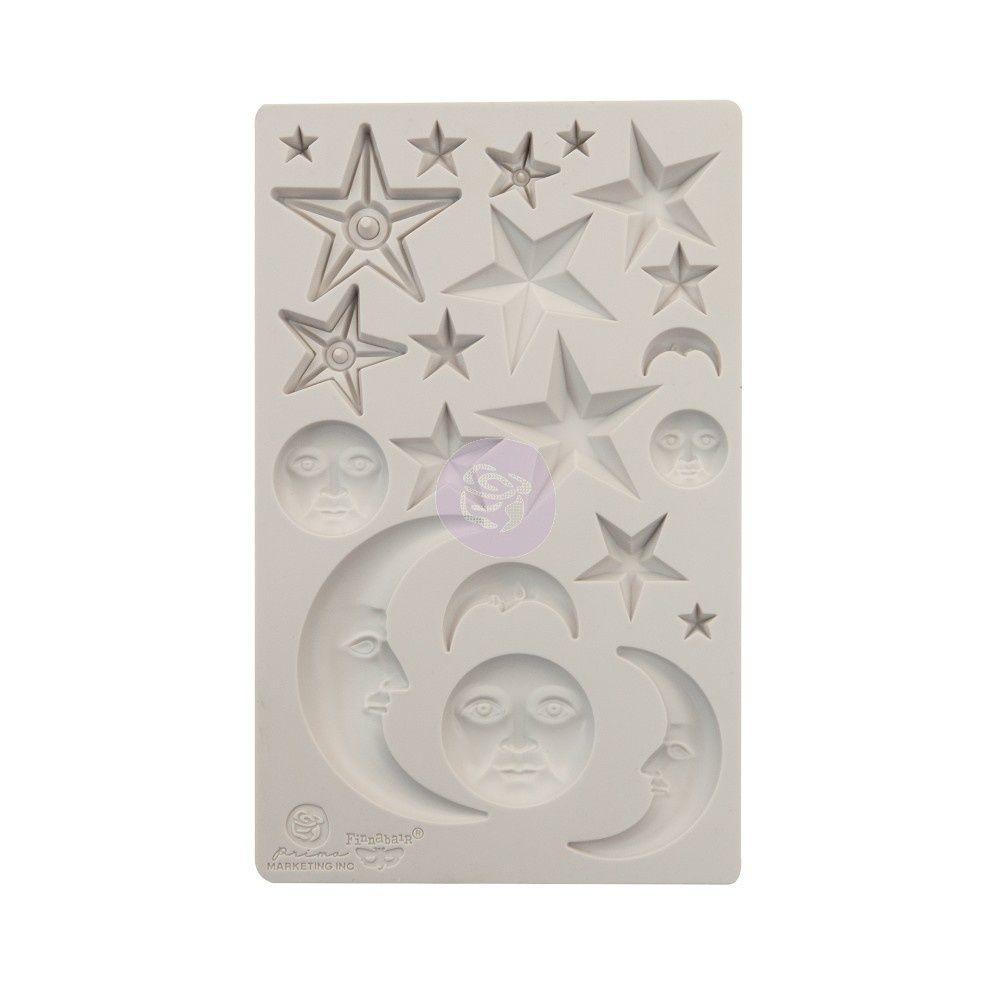 Finnabair Mould - Star And Moons