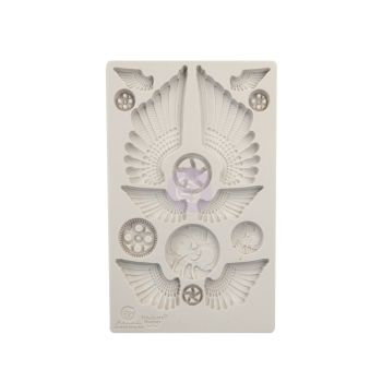 Prima Finnabair Moulds - Cogs & Wings