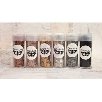 Prima Finnabair Art Ingredients - Mica Flakes Set (6 pcs)