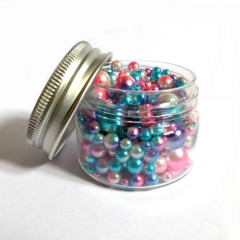 No Hole Mermaid Beads - Candy