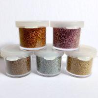 Metallic Micro Beads Set - Vintage