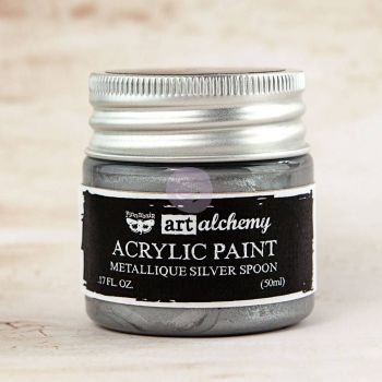 Prima Art Alchemy Acrylic Paint - Silver Spoon