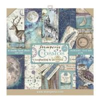 Stamperia Cosmos 12x12 Inch Paper Pack (SBBL56)