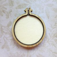 Mini Wooden Embroidery Frame - Circle (E5008)