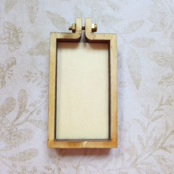 Mini Wooden Embroidery Frame - Rectangle (E5009)