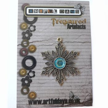 Treasured Artefacts - Silver Snowflake (TA234)