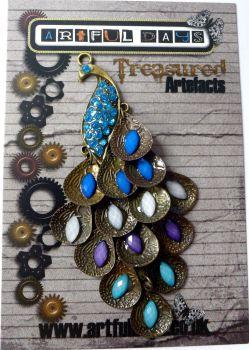 Treasured Artefacts - Jewelled Peacock (TA235)
