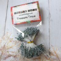 Stamens for Flower Centres - Vintage Matt  Grey