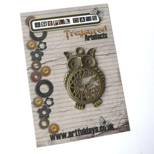 Treasured Artefacts - Mr Owl the Wise Clock (TA236)