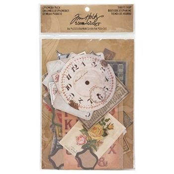 Idea-ology Tim Holtz Ephemera Pack Thrift Shop (54pcs) (TH93114)