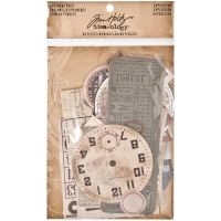 Idea-ology Tim Holtz Ephemera Pack Expedition (63pcs) (TH93115)