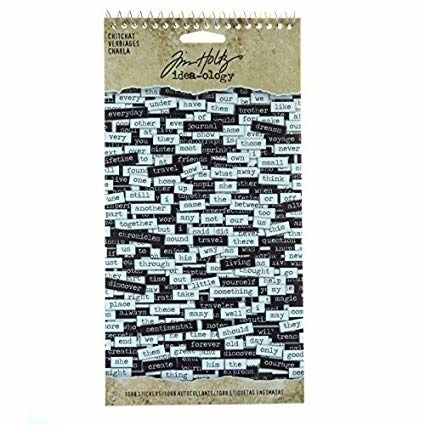 Idea-ology Tim Holtz Chitchat Stickers (1088pcs) (TH92998)