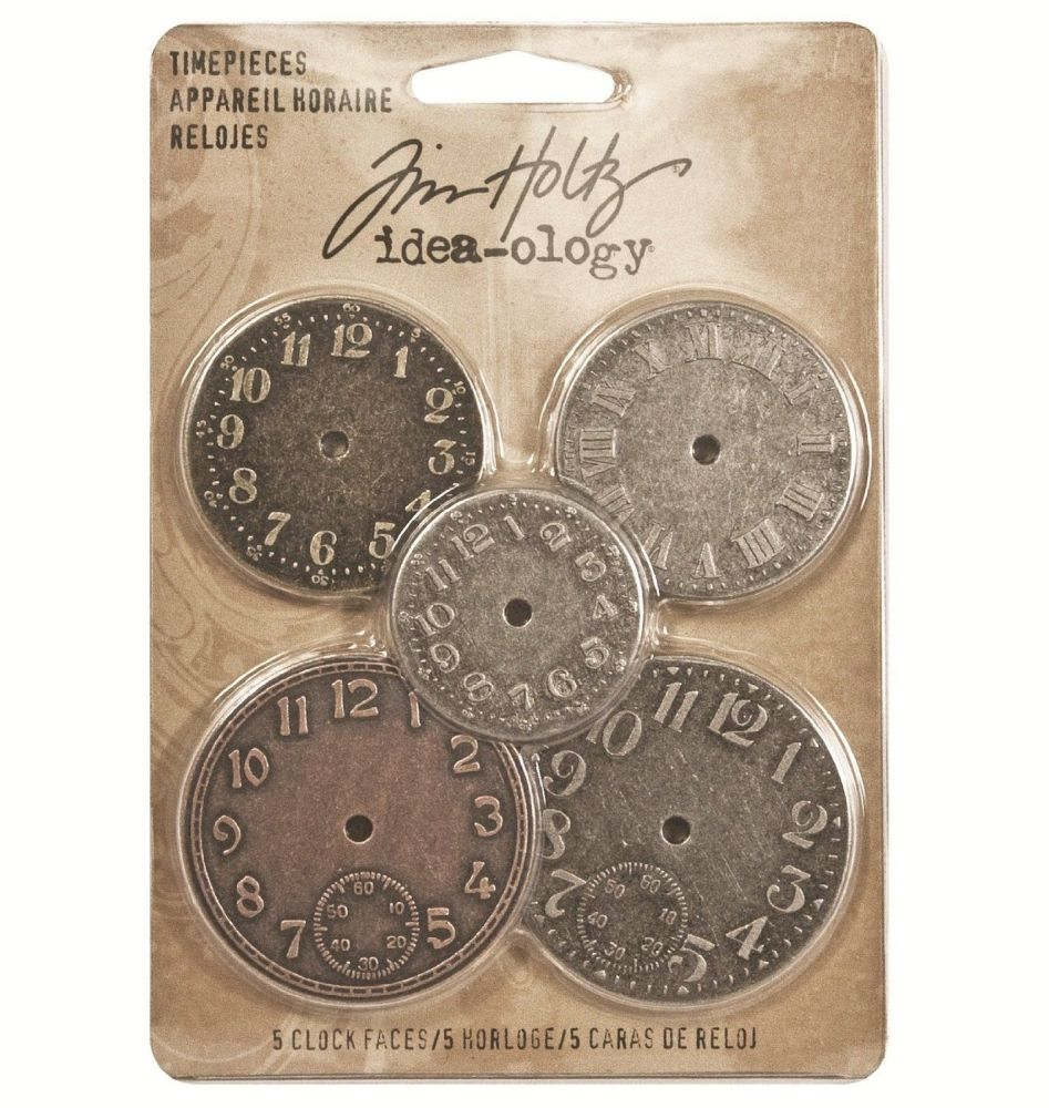 Idea-ology Tim Holtz Timepieces (5pcs) (TH92831)
