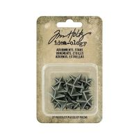 Idea-ology Tim Holtz Adornments Stars (27pcs) (TH93562)