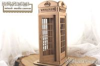Scrapiniec MDF - Telephone Box