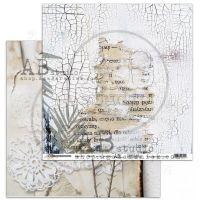 """Rustical journey"" Scrapbooking Paper 12 x 12"" Start your journey"