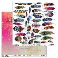 "Elements - Scrapbooking Paper 12 x 12"" - Colourful Breeze"