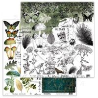"Elements - Scrapbooking Paper 12 x 12"" - Vintage Elements (3/4)"
