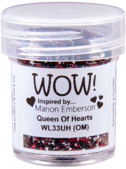 WOW Special Colour Embossing Power - WL33 Queen of Hearts