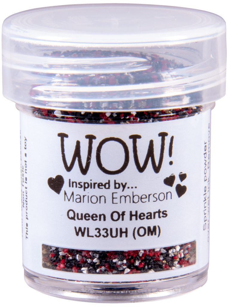 WOW Embossing Glitter - WL33 Queen of Hearts