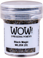 WOW Special Colour Embossing Power -WL25X Black Magic