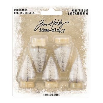 Idea-ology Tim Holtz Woodland Tree Lot Mini (5pcs) (TH93758)