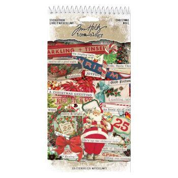 Idea-ology Tim Holtz Sticker Book Christmas (335pcs) (TH93999)
