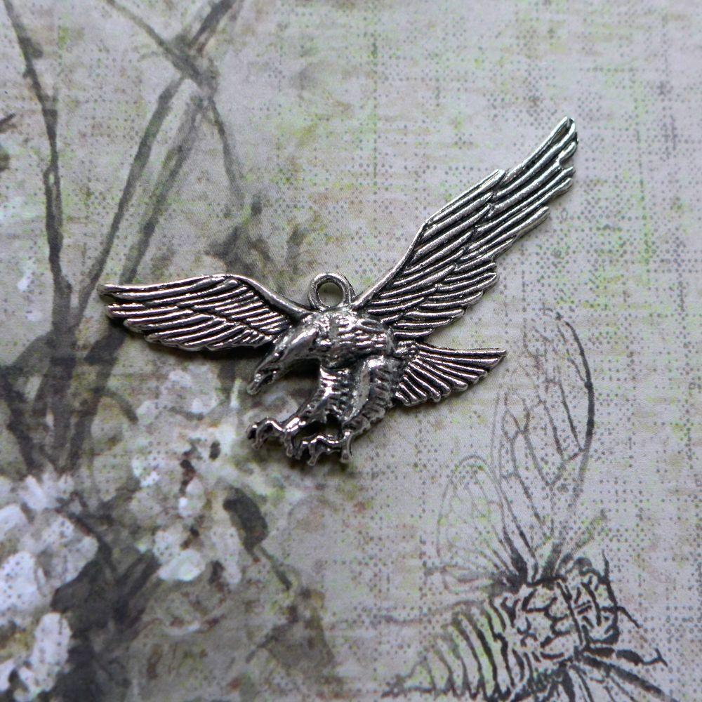 Silver Pegasus Horse (C168)