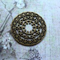 Solid Circle Charm (C151)