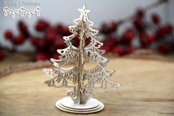 Tatting Christmas - 3D Christmas Tree (5255)
