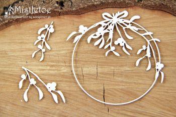Mistletoe - Round Frame (4824)