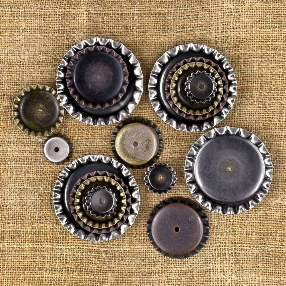 Prima Marketing Vintage Mechanicals Bottle Caps (16pcs) (960391)