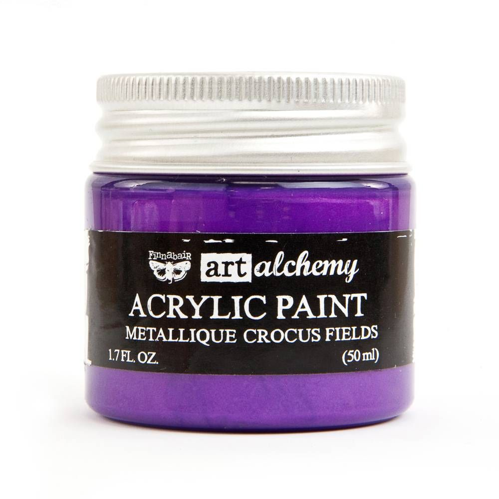 Prima Art Alchemy Acrylic Paint - Metallique Crocus Fields (964474)