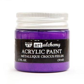 Prima Art Alchemy Acrylic Paint - Metallique Crocus Fields (964474)