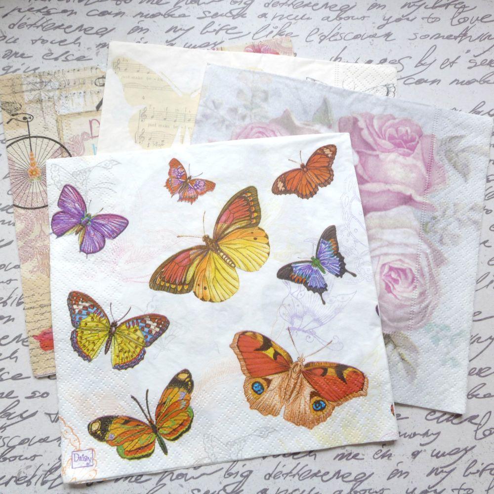 Assorted Paper Napkins