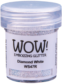 WOW Embossing Glitter - WS47 Diamond White
