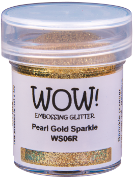 WOW Embossing Glitter - WS06 Pearl Gold Sparkle