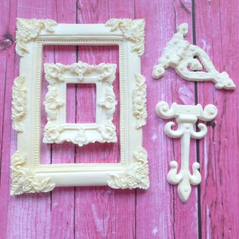 Set 2 - Resin Frames/Hinges Clearance