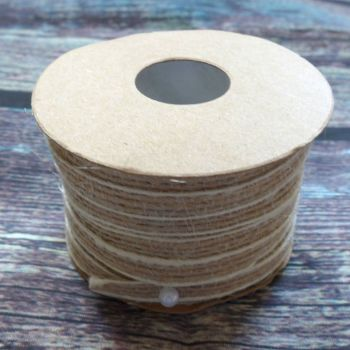 Natural Burlap Ribbons - 5mm x 10 Meters