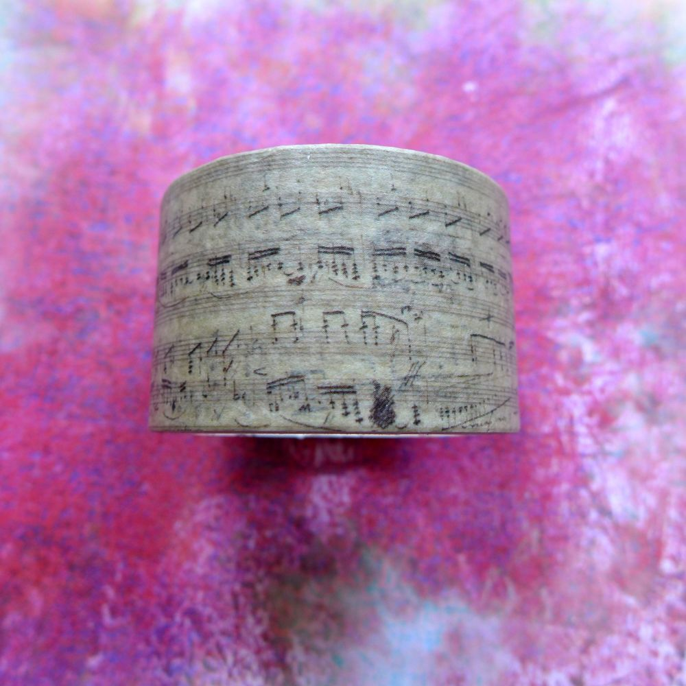 Musical Notes Washi Tape