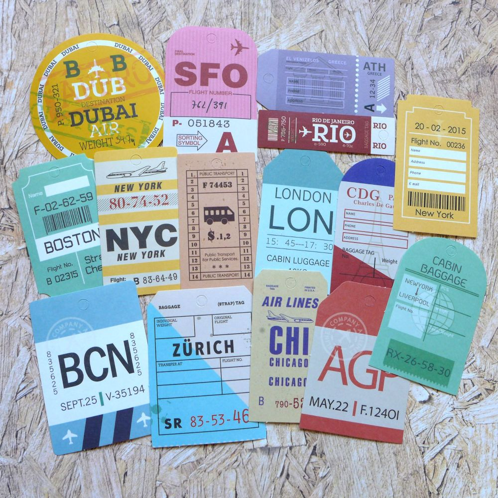 Luggage Paper Tags (PA019)
