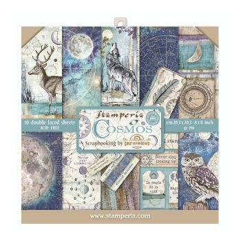Stamperia Cosmos 8x8 Inch Paper Pack (SBBS11)