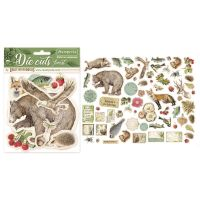 Stamperia Forest Die Cuts (DFLDC02)