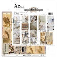 """Rustical journey""  Paper 12 x 12"" + 1 Bonus Sheet Set"