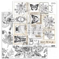 "Elements - Scrapbooking Paper 12 x 12"" - My Diary"